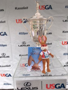 Grady, book, US Open Trophy