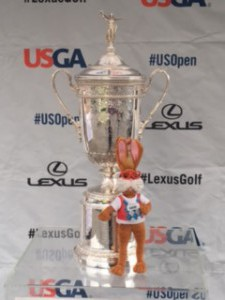 Grady and US Open trophy
