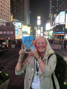 Grady in Times Square
